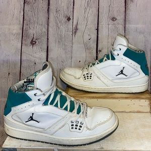 Jordan 1 Flight White New Emerald size 10